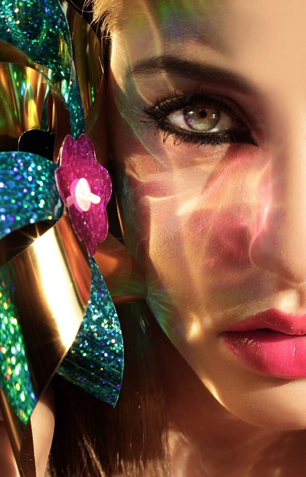 makijaż do sesji glamour