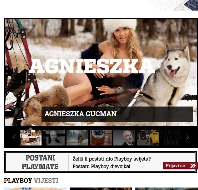 Playboy croatia Wataha północy